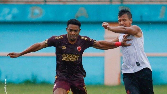 Osas Saha Cetak Gol Perdana Bersama PSM Makassar