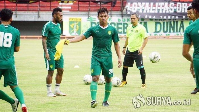 Osvaldo Haay sudah bergabung dalam latihan Persebaya Surabaya