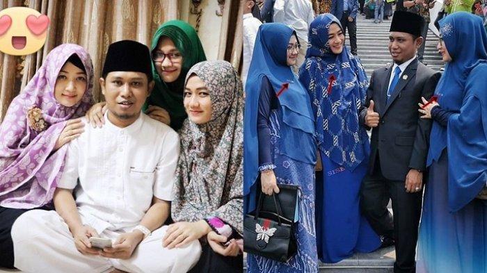 Outfit tiga istri Lora Fadil
