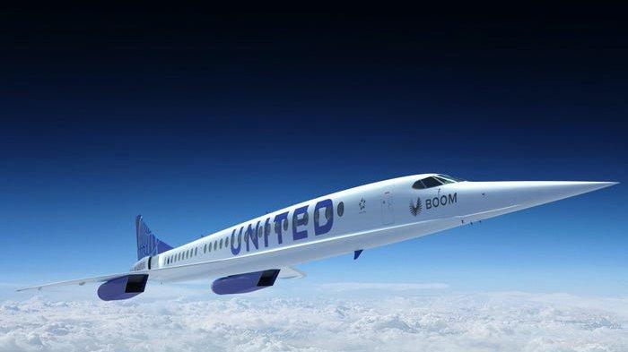 United Airlines Operasikan Jet Supersonik, London ke New York Cuma Terbang 3,5 Jam