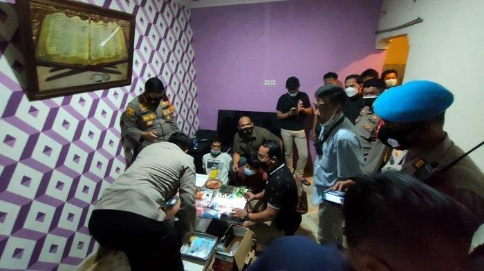 Polisi Gerebek Pabrik Pil Ekstasi Berkedok Rumah Warga di Panongan Tangerang
