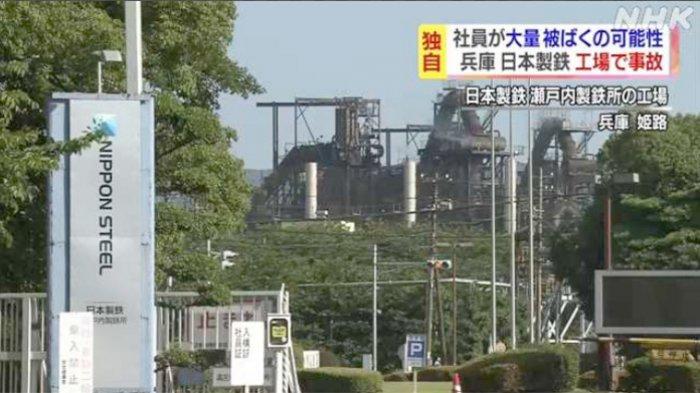 Kecelakaan Kerja di Pabrik Nittetsu Jepang, 2 Karyawan Terpapar Radiasi Sinar-X