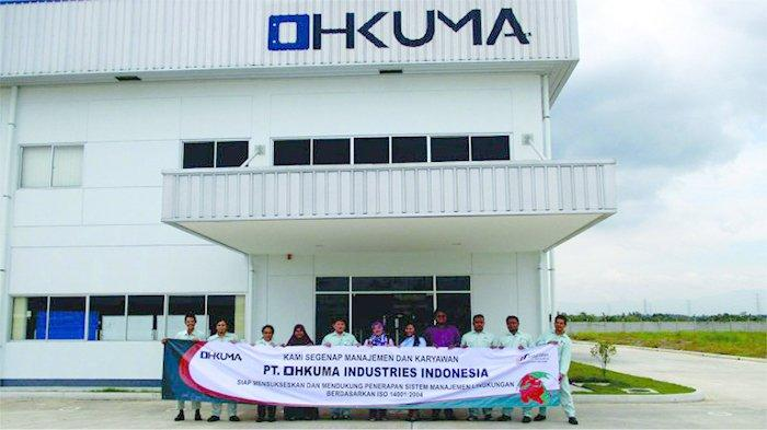 Pabrik PT Ohkuma Industries Indonesia di Kawasan Industri GIIC, Jalan Anggrek 1 Blok AC No. 11 Kota Deltamas, Desa Sukamahi Cikarang Pusat, Kabupaten Bekasi – Jawa Barat