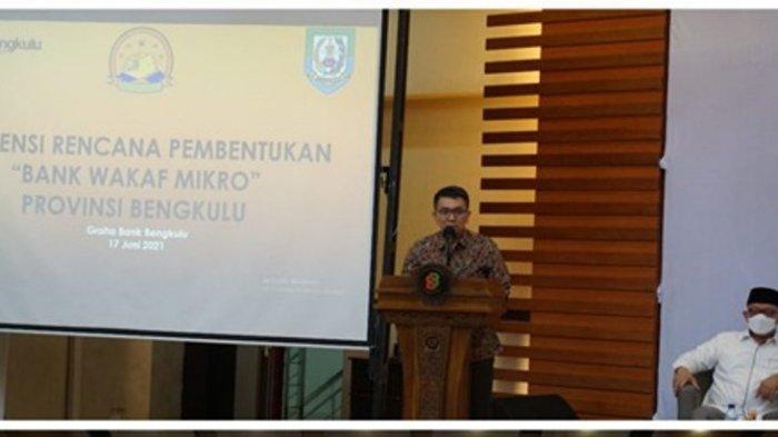 Asisten Staf Khusus Wapres Dorong Pendirian Bank Wakaf Mikro Pertama di Bengkulu