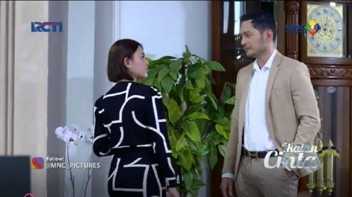 Pada episode sinetron Ikatan Cinta malam ini, Nino menemui Andin. Suami Elsa itu merasa jika Aldebaran masih menyembunyikan sesuatu.