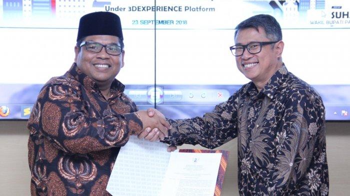 Dassault Systèmes Mulai Garap Padang Pariaman Jadi Smart City