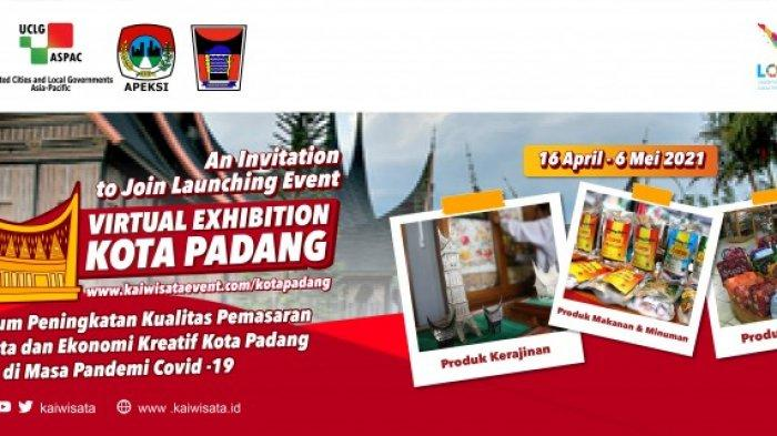25 UMKM Ramaikan Gelaran Virtual Exhibition Kota Padang 2021