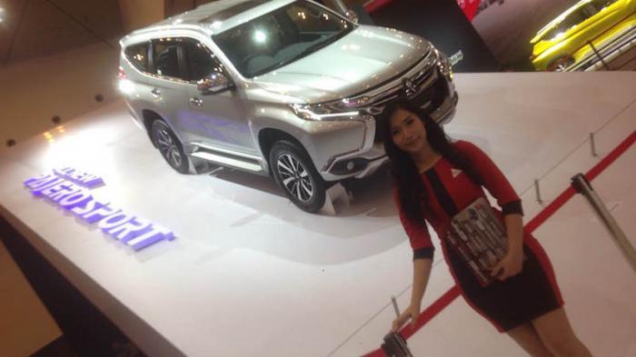Mitsubishi All New Pajero Sport Sudah Dipesan 590 Unit di GIIAS