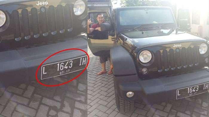 Netizen Sorot Kejanggalan Plat Nomor Mobil Pak Dendy, Ini yang Muncul Saat Dicek ke Situs Pemerintah