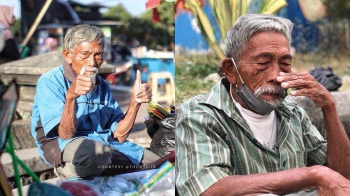 VIRAL Seorang Pejuang Kemerdekaan Kini Berjualan Mainan di Pinggir Jalan, Begini Kisahnya