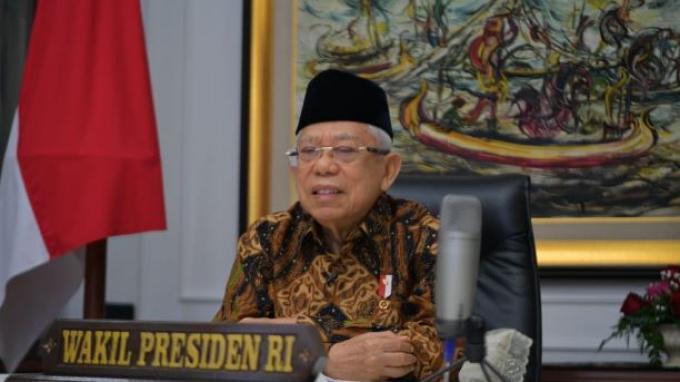 Dorong Bank Riau Kepri Jadi Bank Umum Syariah, Wapres: Industri Halal Semoga Dikembangkan