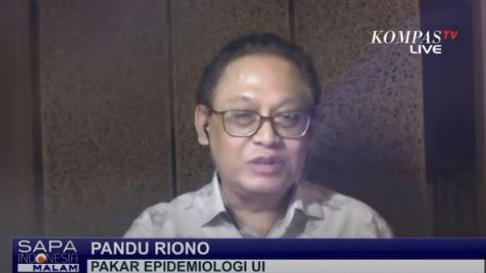 Pakar Epidemiologi Universitas Indonesia, Pandu Riono