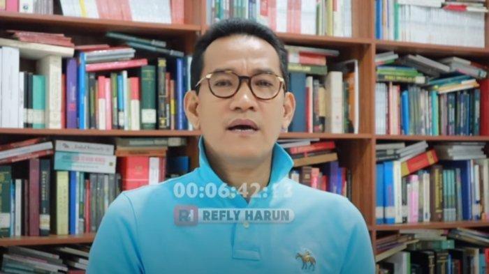 Pakar Hukum Tata Negara, Refly Harun dalam tayangan Youtube pribadinya Refly Harun, Selasa (2/6/2020).