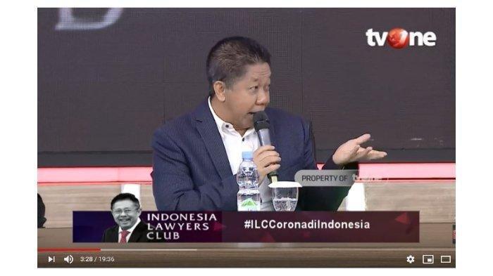 Di ILC, Effendi Gazali Blak-blakan Sampaikan Saran untuk Jokowi soal Corona: Bukannya Enggak Sayang