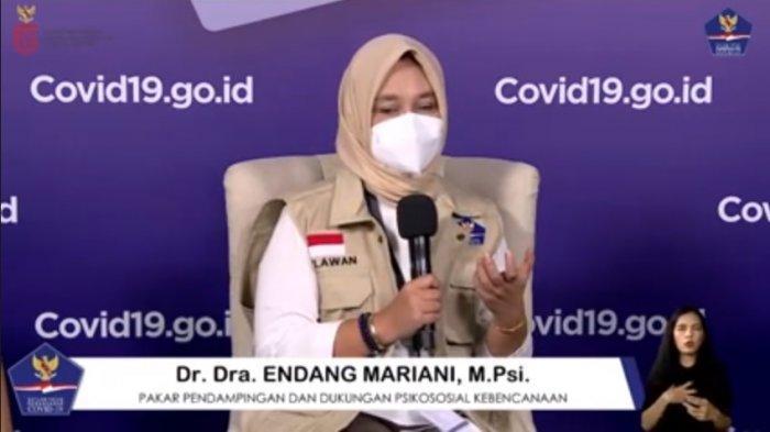 Pakar Pendamping dan Dukungan Psikososial Kebencanaan, Dr Dra Endang Mariani, M Psi