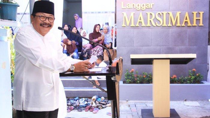 Pakde Karwo Langgar Marsimah di Jl Dinoyo Langgar Surabaya, Kamis (10/5/2018).