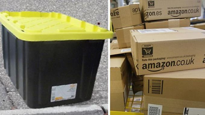 Pasangan Ini Beli Kotak Plastik dari Amazon, saat Paketnya Tiba, Mereka Harus Telepon Polisi
