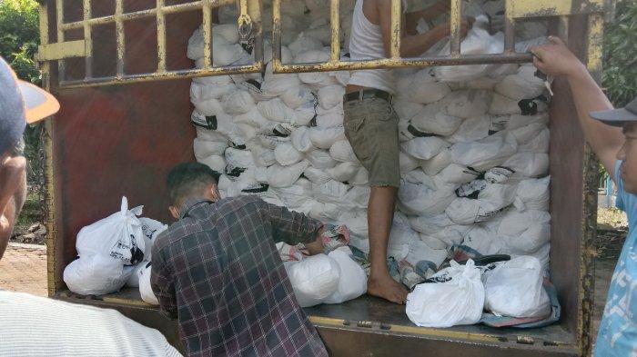 9 Ribu Paket Sembako Dikirim ke Sembilan Kabupaten/Kota
