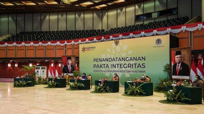 Melalui Pakta Integritas Kementerian LHK Pertegas Jajarannya Anti-Korupsi