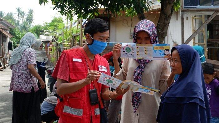 PMI Konsisten Bantu Korban Gempa Bumi Lombok di Tengah Pandemi Covid-19