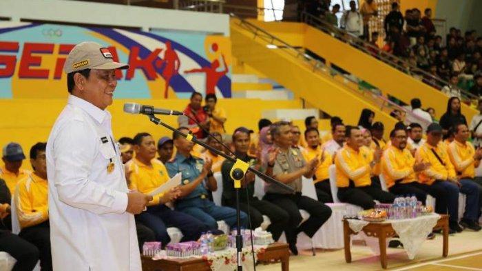 Renovasi GOR Hasanuddin HM Untuk Motivasi Atlet Kalsel Berprestasi kata Paman Birin