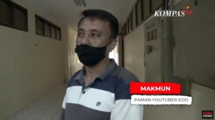Paman YouTuber Edo Putra, Makmun mengungkapkan sang keponakan ternyata sudah beberapa kali membuat video prank.