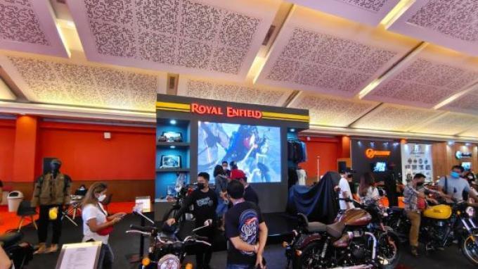 Royal Enfield Berikan Program Khusus untuk Pembeli RE Himalayan di IIMS Hybrid 2021