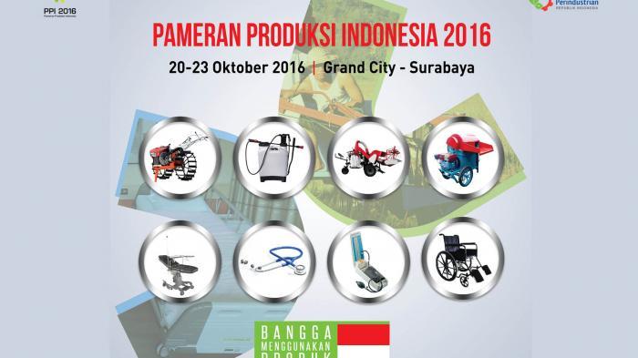 Kemenperin Gelar Pameran Produk Indonesia 2016 di Surabaya