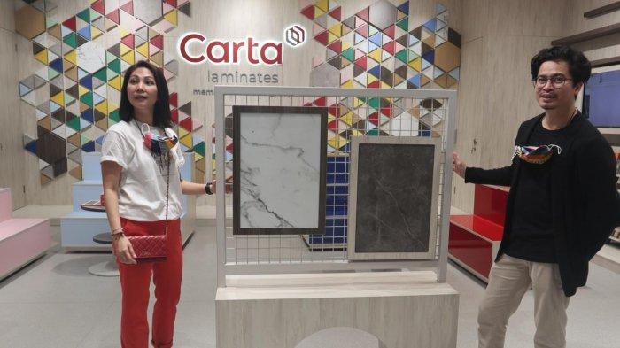 Desainer Interior Handhy Hardian Bikin Pameran Seni Instalasi Bareng Carta Laminates