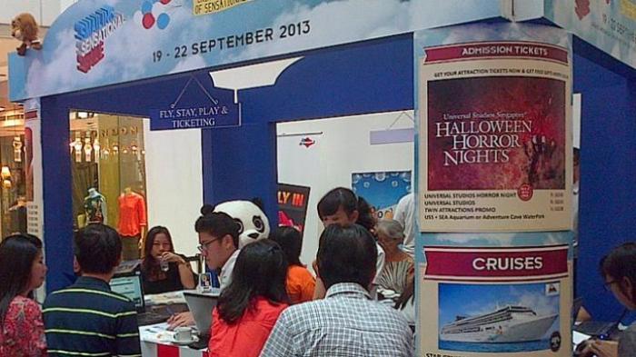 Travel Fair di Jakarta Akhir Pekan Ini Tawarkan Diskon Tiket Pesawat hingga 40 Persen