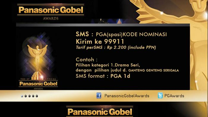 Panasonic Gobel Awards Digelar 28 Mei 2015, Dukung Idola Anda Lewat Tiga Cara Berikut