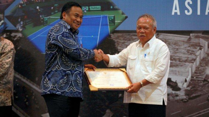 Sukses Mendukung Asian Games Panasonic Raih Penghargaan dari Kementerian PUPR