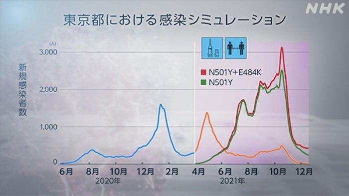 Gelombang Pandemi Ke-5 di Jepang Capai Puncak November 2021 Bila Tidak Divaksin