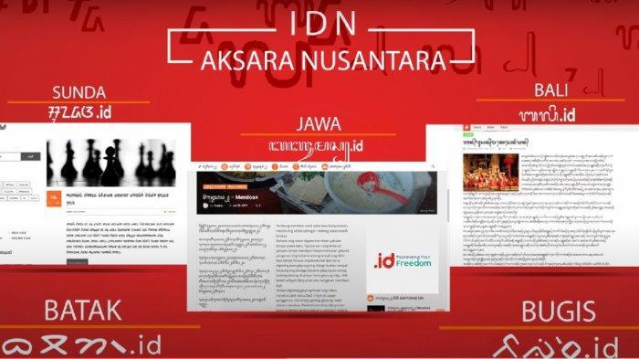 Setelah Daftarkan Domain Aksara Jawa, PANDI Siap Daftarkan Aksara Lainnya ke ICANN
