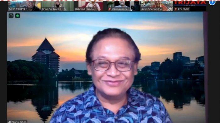 Pakar epidemiologi Universitas Indonesia (UI) Pandu Riono.
