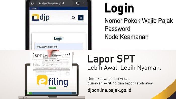 Pemilik Npwp Wajib Lapor Spt Simak Panduan Mengisi Spt 1770 Ss Melalui E Filing Djp Online Tribunnews Com Mobile
