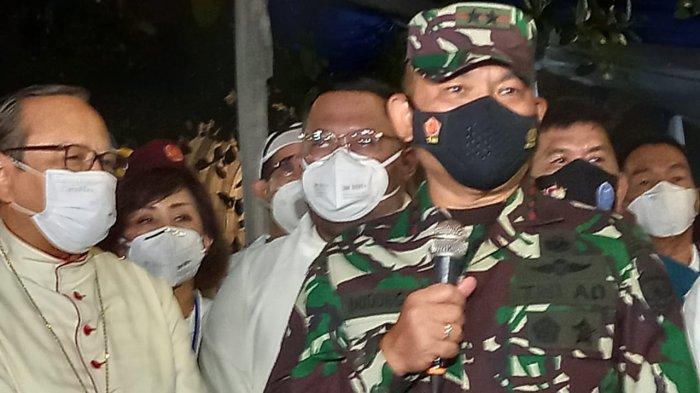 Pantau Keamanan di Gereja Katedral Jakarta, Pangdam Jaya: Kondusif dan Nyaman