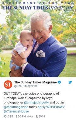 Pangeran Charles dan Pangeran Louis