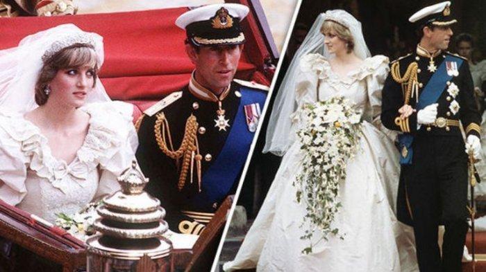 Pernikahan Pangeran Charles dan Putri Diana Spencer pada 29 Juli 1981 juga menjadi satu royal wedding yang sangat dinantikan rakyat Inggris pada saat itu.