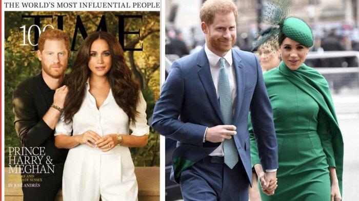Pangeran Harry dan Meghan Markle Masuk Daftar 100 Orang Paling Berpengaruh Versi Majalah Time