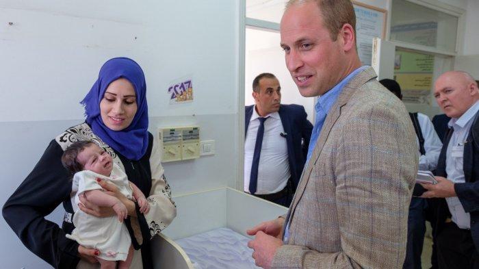 Pangeran William tengah melakukan kunjungan ke Palestina.