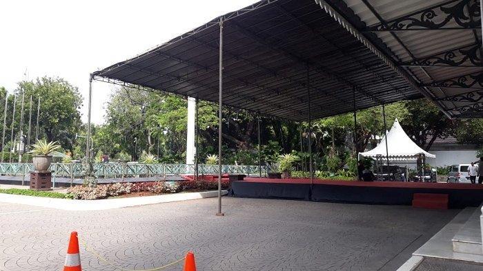 Pesta Persija Jakarta Juara, Dua Panggung Besar di Balai Kota Didirikan