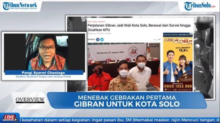 Analis politik sekaligus Direktur Eksekutif Voxpol Center, Pangi Syarwi Chaniago.