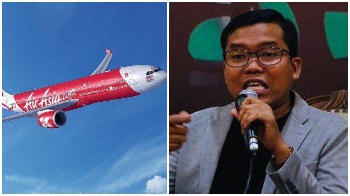 Gagal Terbang karena AirAsia Batalkan Penerbangan Sepihak dan Tanpa Kejelasan, Pangi: AirAsia Arogan