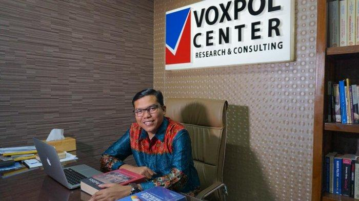 Analis Politik sekaligus Direktur Eksekutif Voxpol Center Research and Consulting, Pangi Syarwi Chaniago