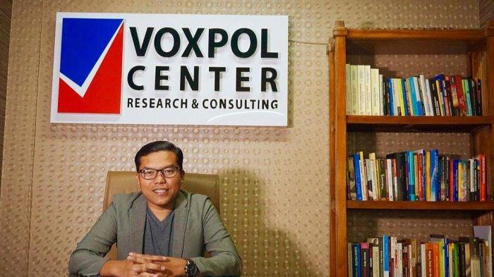 Analis Politik Sekaligus Direktur Eksekutif Voxpol Center Research and Consulting, Pangi Syarwi Chaniago