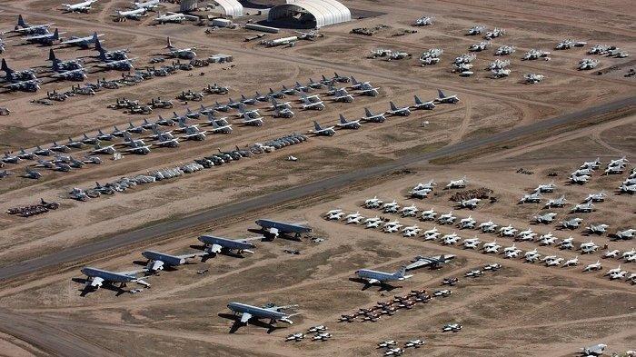 5 Kuburan Pesawat Terbesar di Dunia, Davis-Monthan Tempati Urutan Pertama