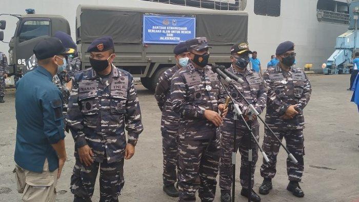 Panglima Kolinlamil Ungkap KRI Banda Aceh 593 Mampu Angkut 400-500 Ton Bantuan Kemanusiaan