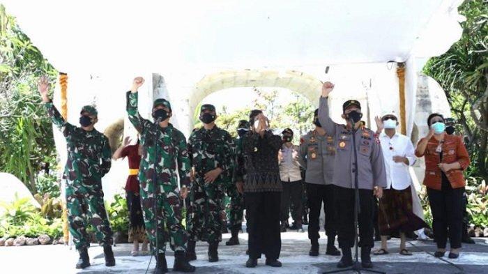 Panglima TNI Imbau Pasien Covid-19 Isoman di Bali Dirawat di Fasilitas Isoter