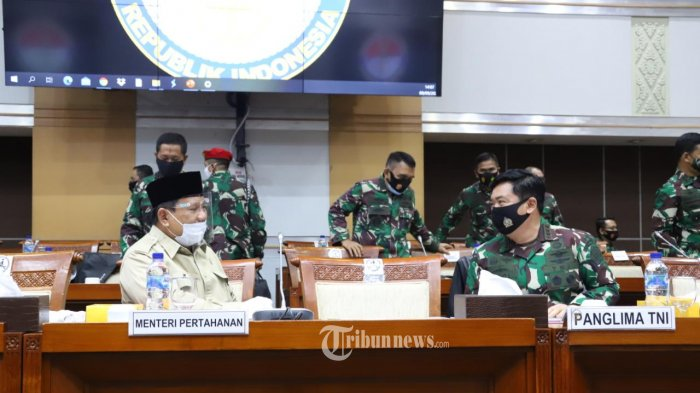 Komisi I Rapat Tertutup dengan Mabes TNI-Kemenhan, Prabowo Dijadwalkan Menyusul
